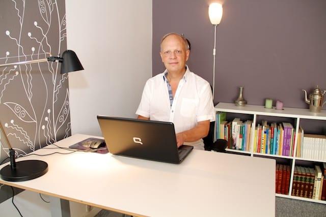 Helge Jørgensen, Vitales Terapi Hillerød – simpelt hen god at snakke med